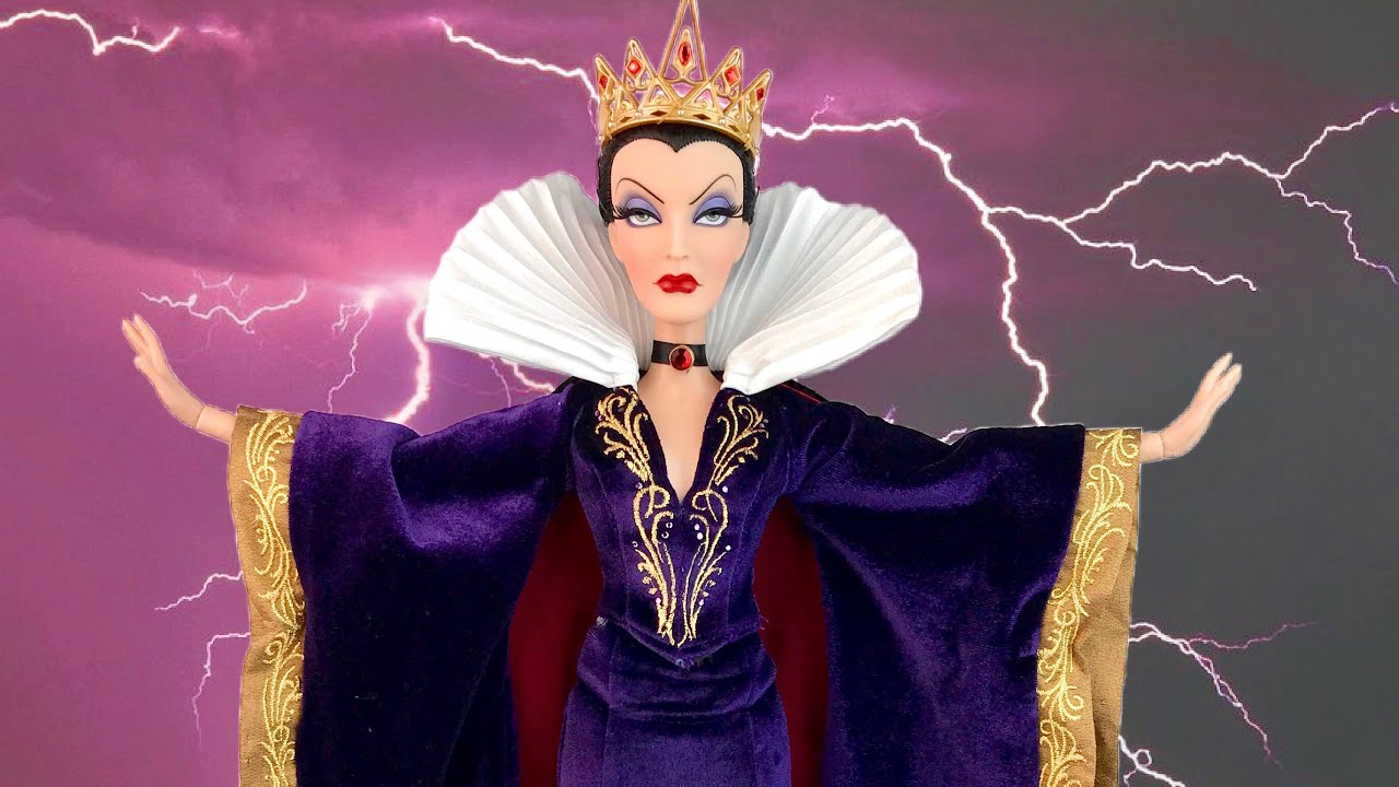 """Snow White's Evil Queen 17"""" DISNEY Limited Edition Doll ... Disney Evil Queen Snow White"""