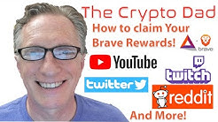 How to Claim Brave Rewards for YouTube Twitter Twitch Reddit and More