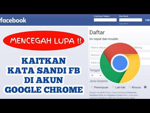 Tips Tricks Fb Mengaitkan Kata Sandi Facebook Di Akun Google Chrome