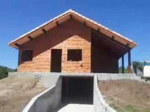Casas de madera modelo pontevedra youtube - Casas de madera pontevedra ...
