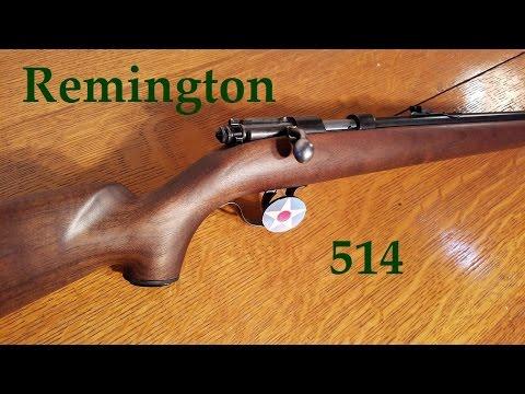 My Remington 514 .22 Single Shot.