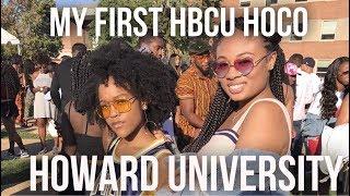 MY FIRST HBCU HOMECOMING - Howard University Homecoming 2017 VLOG