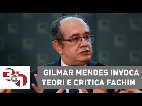 Convicto De Que Foi Gravado Por Joesley, Gilmar Mendes Invoca Teori E Critica Fachin