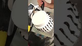 2-Tier Cake HOW TO MAKE EASY BIRTHDAY CAKE AT HOME - Mẫu bánh sinh nhật 2 tầng 2019 Đơn Giản Tại Nhà