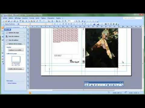 20111019 comment réaliser une  couverture sous publisher