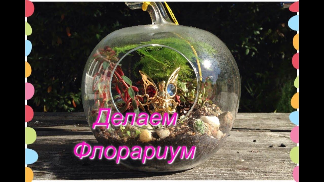 флорариум (сад в бутылке) Садо-Терапия🌺💕