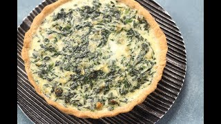 Spinach & Cheese Pie | Sanjeev Kapoor Khazana