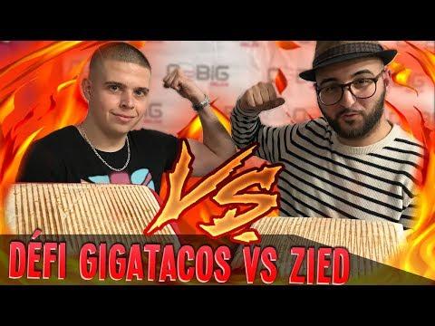 En LIVE : Défi GIGATACOS Vs Zied (Ancien O'TACOS) + FAQ !! (+ 1 Double Royal Bacon Burger)