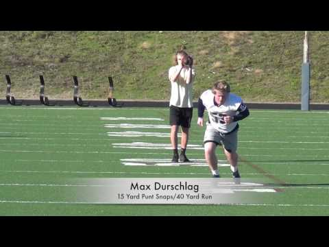 Max Durschlag  (LS) Mallard Creek HS  Charlotte, NC Class of 2018