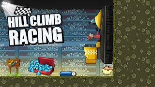Hill Climb Racing Arena 5441m on Hovercraft | GamePlay