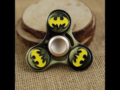 Batman fidget spinner metal  unique rear