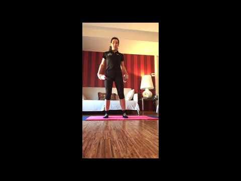 Pilates embarazo con pesas (8/04/2020)