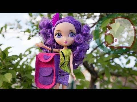 видео: Как сделать рюкзак для куклы. how to make a backpack for doll.