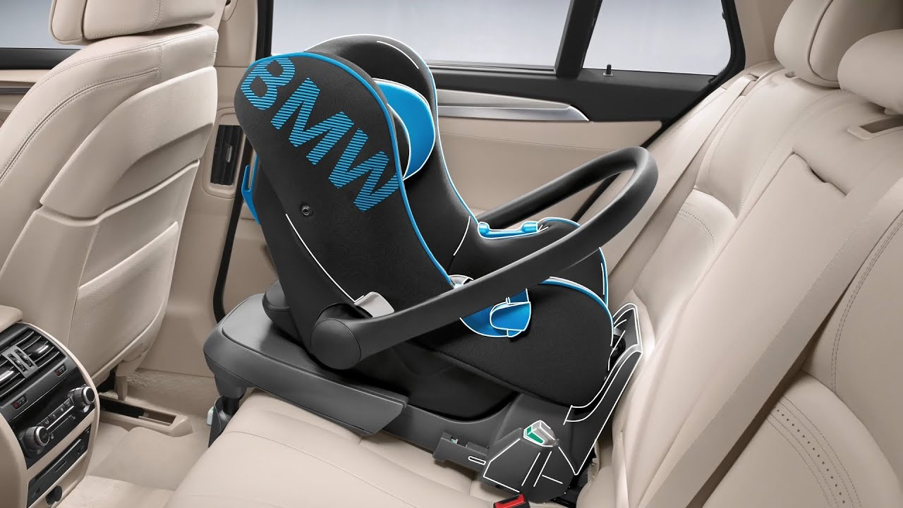 the bmw baby and child safety seats - youtube