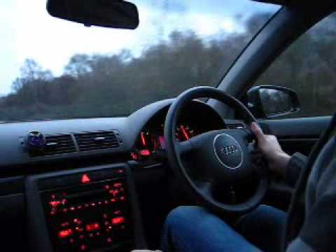 Audi A4 1 9 Tdi 96 Kw 130 Bhp Stock Youtube