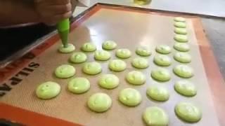 Cara Cepat Mencetak Kue Kering Pakai Plastik Segitiga Jumbo
