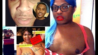 Trey Songz is GAY..... Aretha Franklin Big ass is OUT & MORE!!!