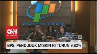 Video BPS: Jumlah Penduduk Miskin Indonesia Turun Jadi 9,82%, Rekor sejak 1998 download MP3, 3GP, MP4, WEBM, AVI, FLV September 2018