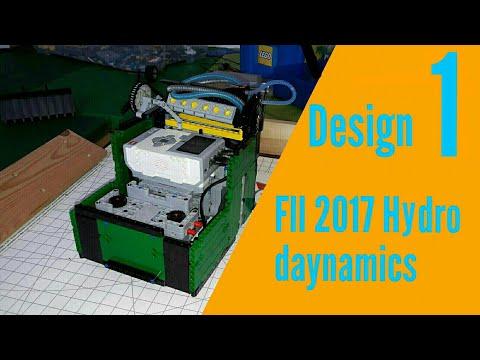 FLL Hydro Dynamics design 01 - First Lego League