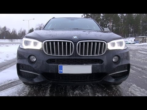 2014 BMW X5 M50d - sound, revs, onboard ride, overview