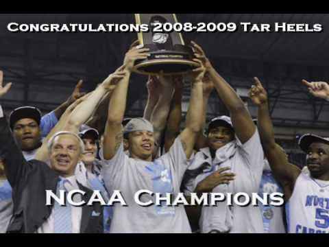 North Carolina (UNC) Tar Heels 2008-2009 NCAA Champions Tribute