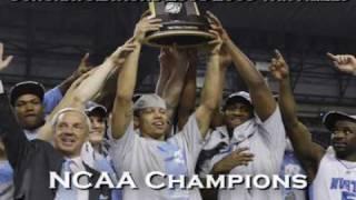 North Carolina (UNC) Tar Heels 2008-2009 NCAA Champions Tribute