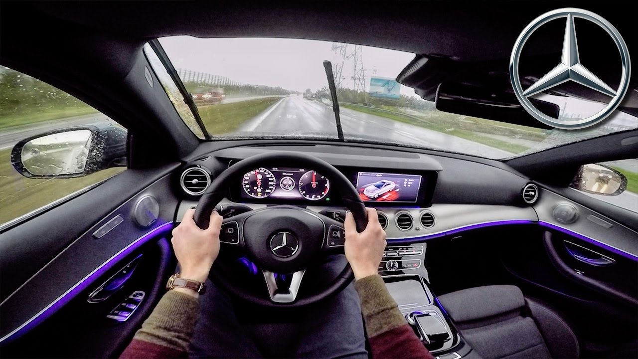 Mercedes Benz E Class 2017 Pov Test Drive Ambient Lighting