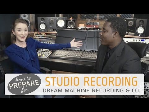 How to prepare for a Recording Studio Session at Dream Machi
