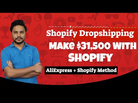 Dropshipping Tutorial- Make $31,500 with Shopify dropshipping Store thumbnail