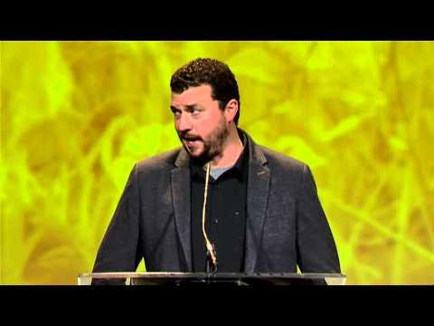 2014 Texas Film Award Presenter: Danny McBride presents to David Gordon Green