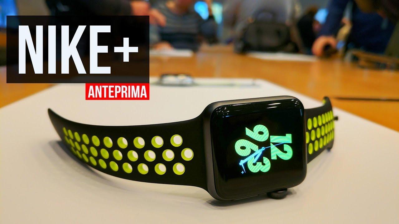 Apple Watch Nike+ per runner e sportivi   Com'è fatto - YouTube