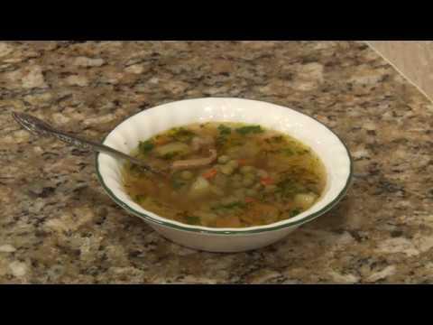 Грибной суп ( из лисичек )