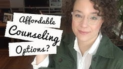 Free and Affordable Counseling Options // Mental Self Care