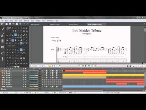 Iron Maiden type song, Original composition (Guitar Pro 6)