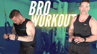 Bro Workout | Full-Body Timed Circuit |Time Under Tension Training
