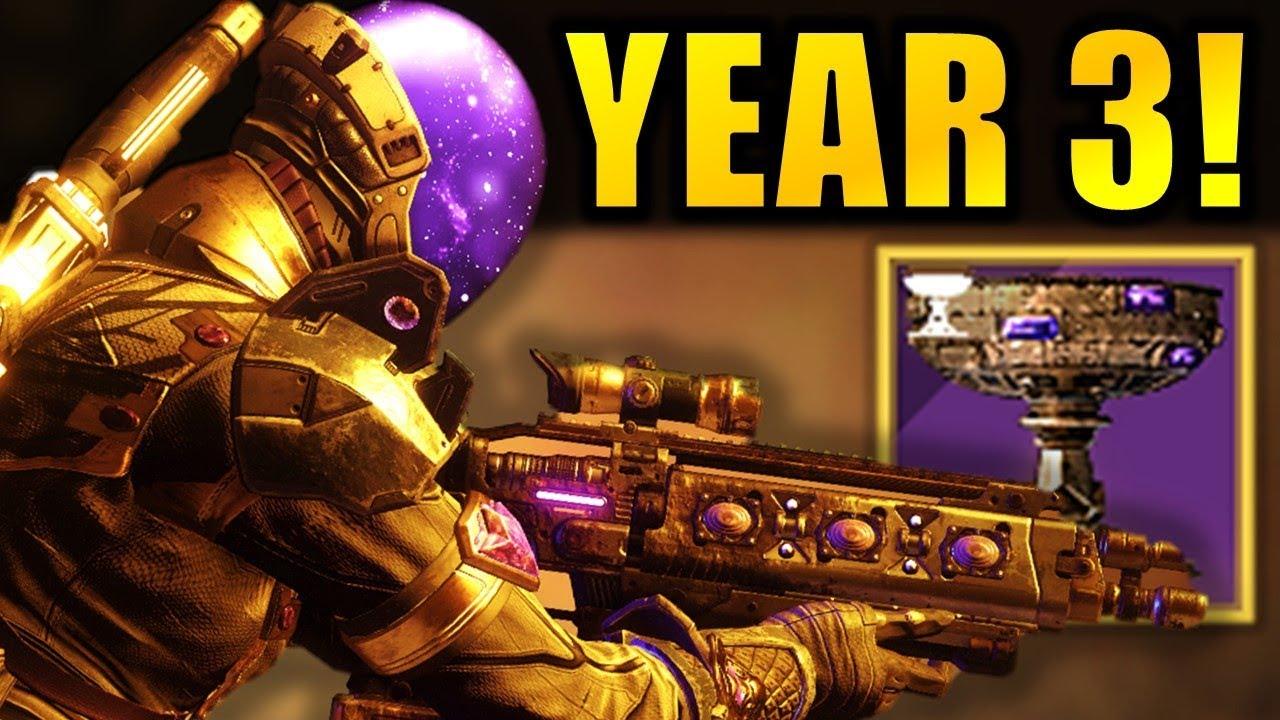 Destiny 2 News: YEAR 3 REVEAL DATE! - Custom Loot Drops! - Buffs! - Raid Rewards!