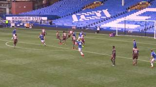 Callum Connolly Scores Superb Goal For Everton Under-21s