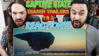 CAPTIVE STATE  - Teaser TRAILER 1 & 2 REACTIONS!!!