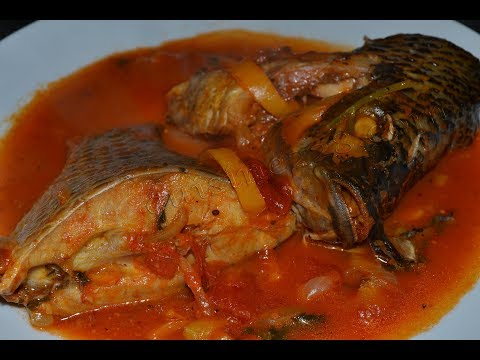 Tomato Sauce With Fresh Fish