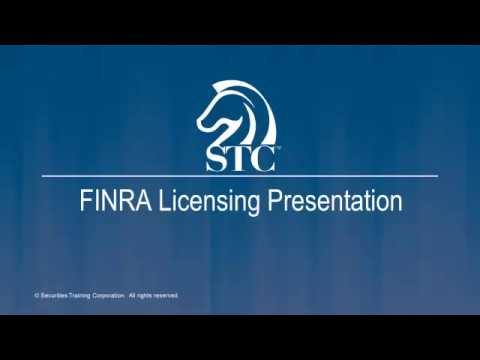 FINRA Licensing Presentation: Series 79 And 63 Exam