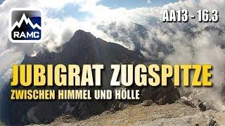 Jubiläumsgrat Zugspitze #3 - zwischen Himmel und Hölle - Abenteuer Alpin 2013 (16.3)