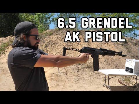Этот автомат Калашникова в Америке считается пистолетом! // Brandon Herrera на Русском Языке.