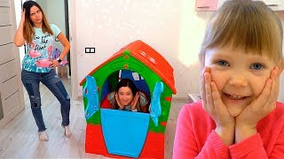 Как  Дети не поделили Новый Домик | Тася