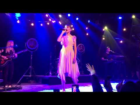 Grace VanderWaal - City Song  - Cambridge  MA - Feb  5th 2018