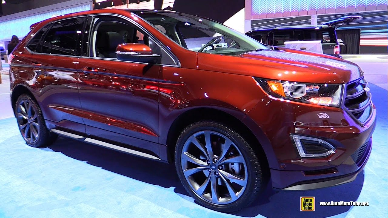 2017 ford edge sport awd exterior and interior. Black Bedroom Furniture Sets. Home Design Ideas