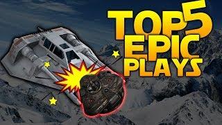 TRIPMINE VS AIRSPEEDER - Battlefront 2 Top 5 Plays