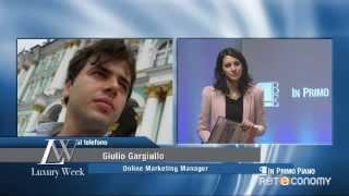 Giulio Gargiullo su moda e lusso made in Italy in Russia