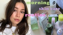 MORNING SKIN CARE ROUTINE 2020