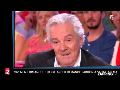 Vivement Dimanche  Pierre Arditi demande pardon à Sabine Azéma