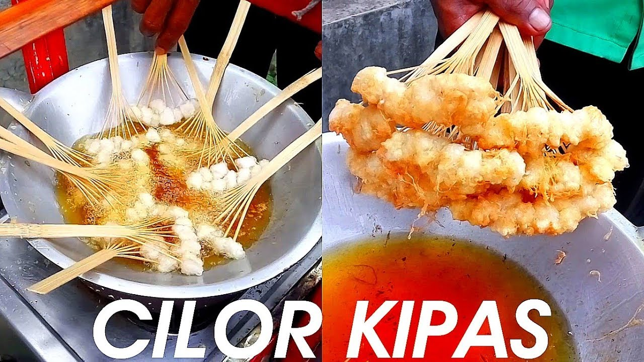amazing food from indonesia you never see that cilor aci telor kipas